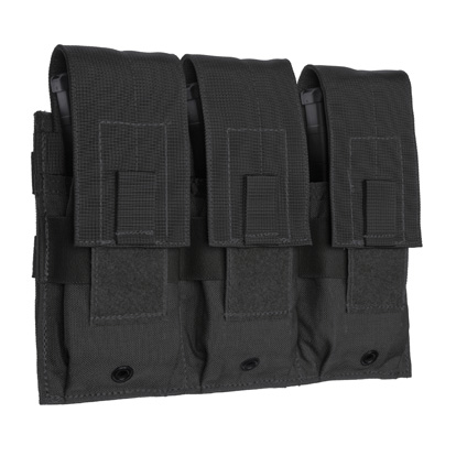 TAC SHIELD BLACK PRODUCT Triple Rifle Pouch