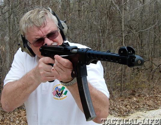 PPS-43 SMG Submachine Gun Test Fire