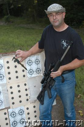 Bill Alexander Testing Alexander Arms .17 HMR