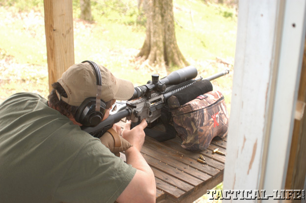 Testing Christensen Arms CA-15