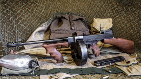 Thompson SMG Submachine Gun Left