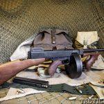 Thompson SMG Submachine Gun Right