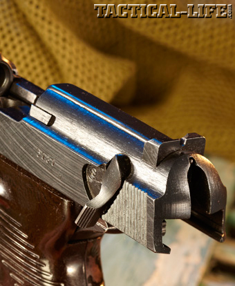 Walther P.38 Rear Sight