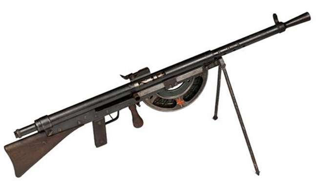 X Products Chauchat Machinegun