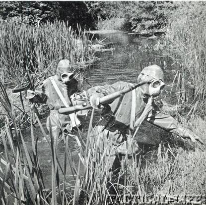 Yugo M48A Mauser Chemical Warwfare