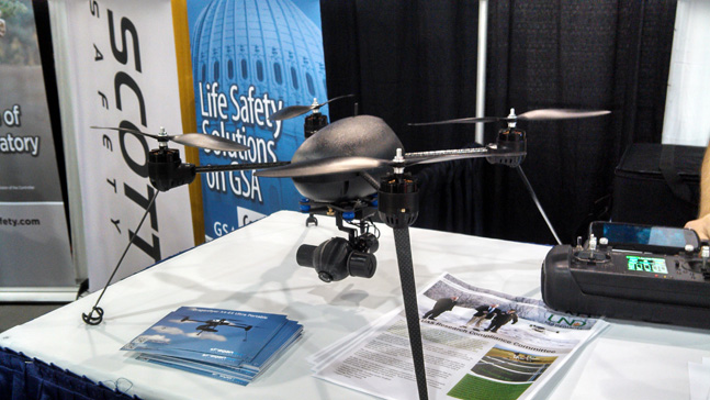 IACP 2013 - Draganflyer Guardian