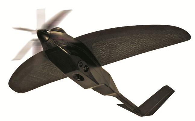 Nighthawk IV in flight