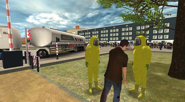 RescueSim Virtual Training Tools - HazMat