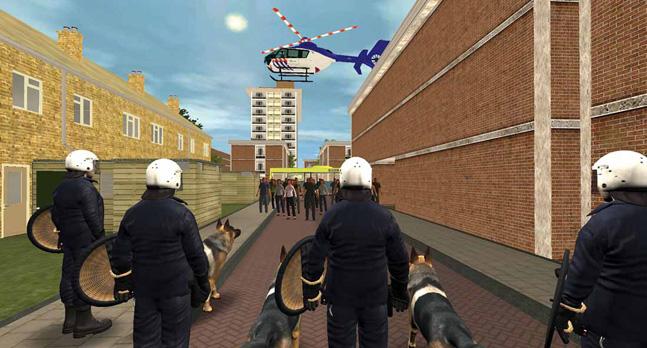 RescueSim Virtual Training Tools - Active scene