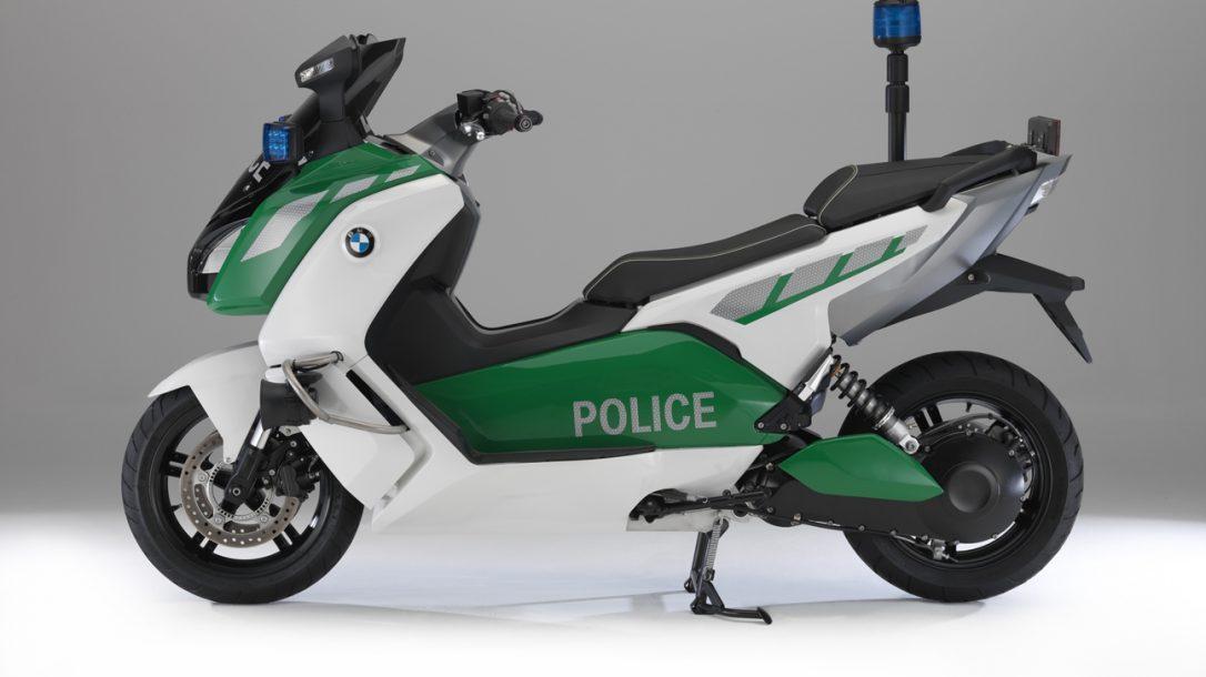 BMW Police-Spec C Scooter
