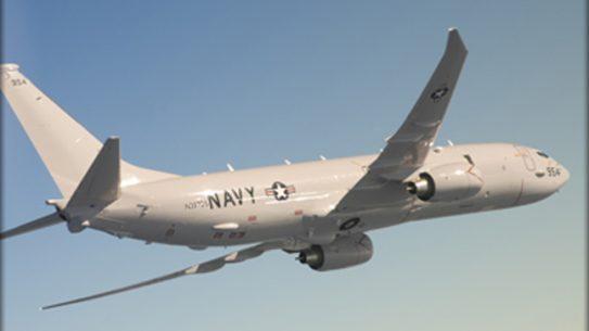 Boeing P-8A Spy Plane