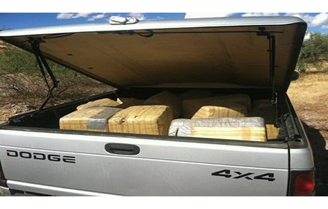 Border Patrol Nets 800-Pound Pot Bust
