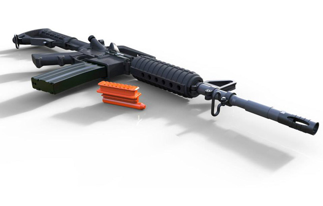 Chamber-View for AR Rifles