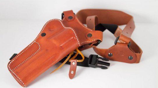 Diamond D Custom Leather Chest Holster