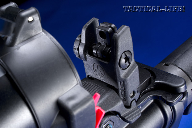 GWLE – Duty Rifles 2013 -DANIEL DEFENSE M4 PATROL RIFLE REAR SIGHT