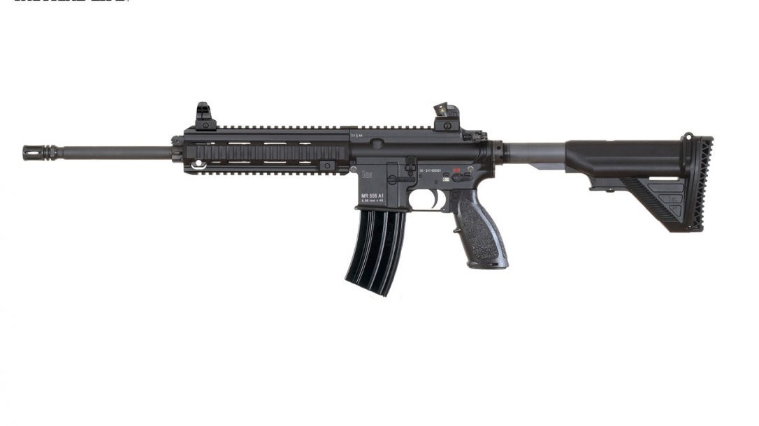 GWLE – Duty Rifles 2013 - HECKLER & KOCH MR556A1 LEFT