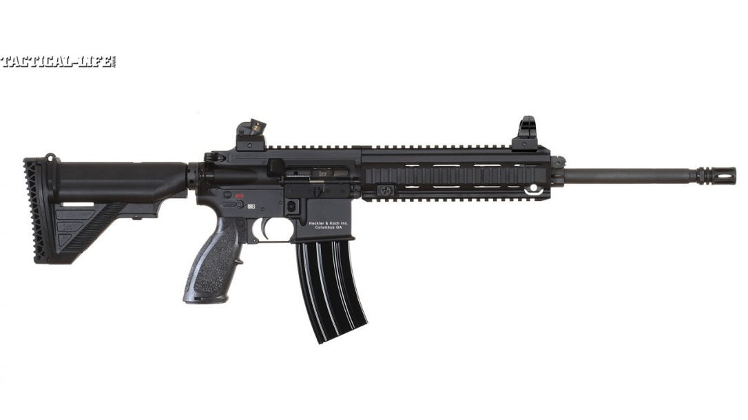 GWLE – Duty Rifles 2013 - HECKLER & KOCH MR556A1 RIGHT