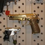 """Guns in Hollywood - Gold Beretta from """"The Dictator"""""""