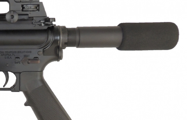 Guntec USA AR-15 Buffer Tube Mounted