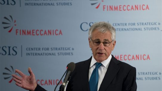 Hagel Outlines Priorities for the Future of Defense