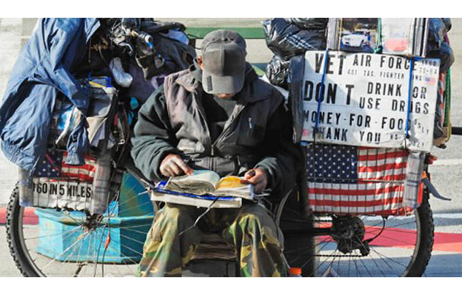 Homeless Vets to get $14 Million in Aid from VA