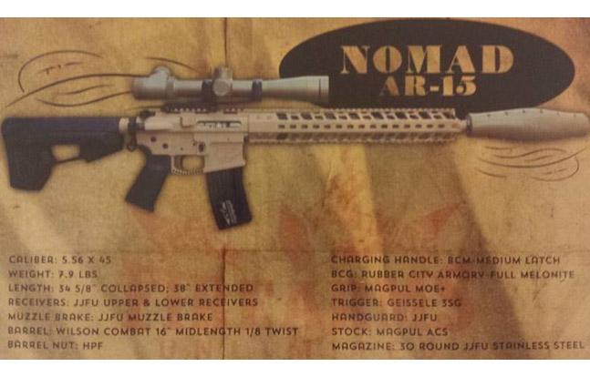 Jesse James Firearms Unlimited Nomad AR-15
