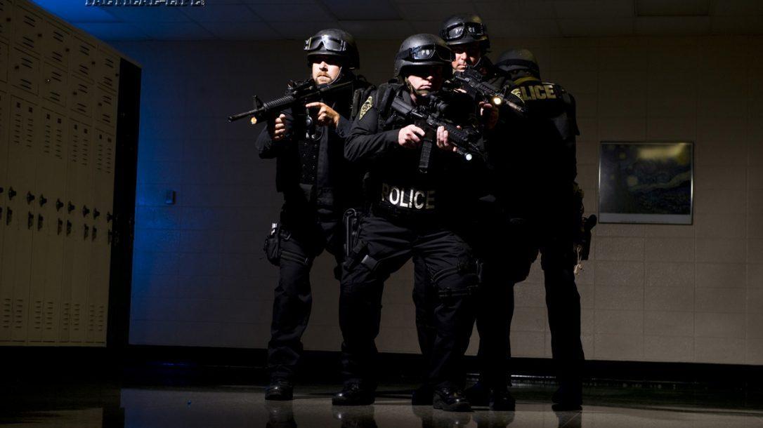 Law Enforcement Tactics - Active Shooter Response - Dark Hallways