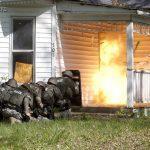 Law Enforcement Tactics - Explosive Breaching- BOOM