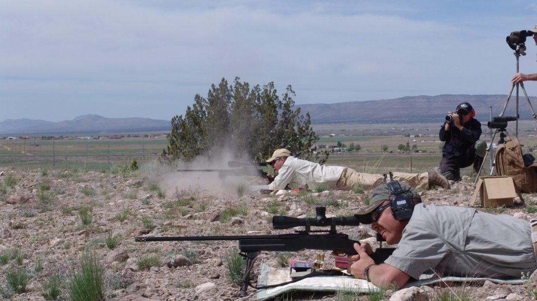 Law Enforcement Tactics - Long-Range Countersniping - Walt Wilkenson on the Weatherby .338 Lapua
