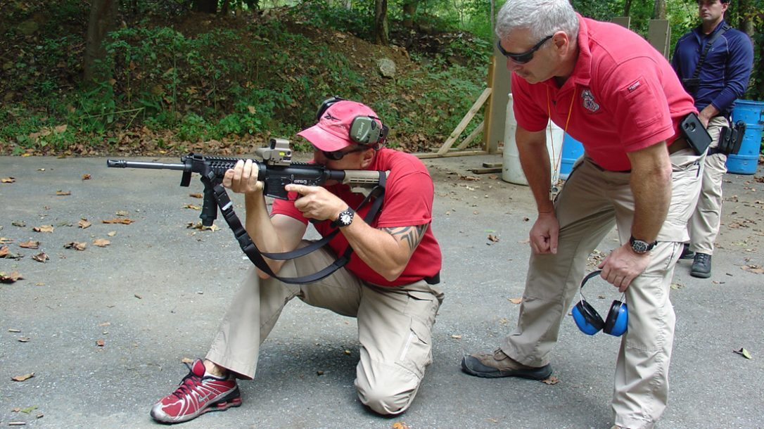 Law Enforcement Tactics - NRA Select Fire Course - Varied Shooting Positions