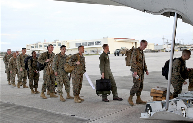 Marines in the Philippines to Assist with Typhoon Haiyan Relief
