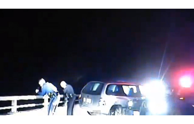 Michigan Trooper and Suspect Survive Terrifying Fall of a Bridge