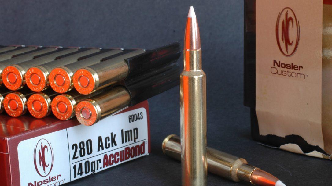 NASGW - New Ammunition - Nosler 280