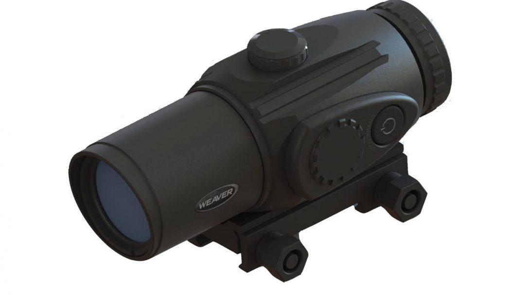 NASGW- Optics, Sights and Scopes - Weaver 3x Prismatic scope