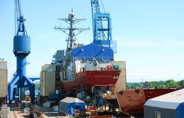 Navy Shipbuilding Programs Improving