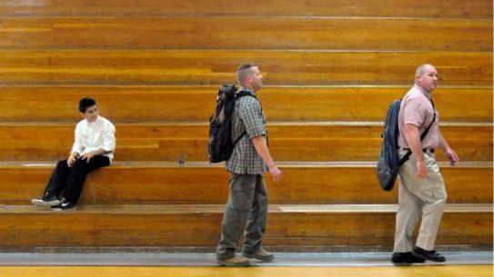 Off-Duty Guardian Angels Watch Over Colorado Schools