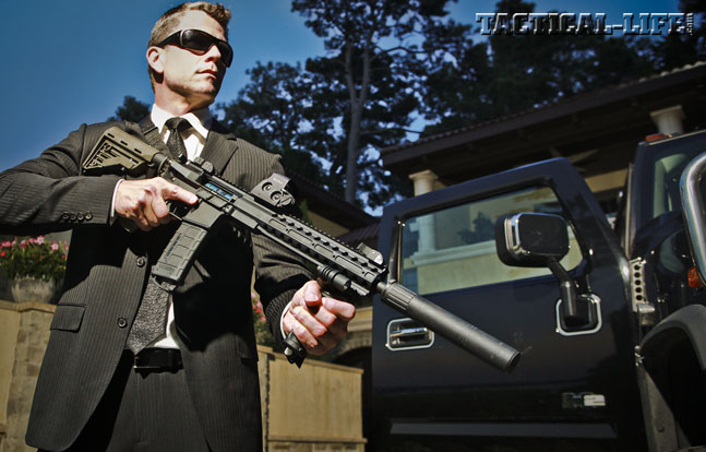 Preview - DRD Tactical U556 VIP Protection   Gun Review