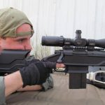 Remington Model 700 Archangel Countersniper at ready