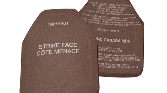 Revision Military to Provide Canadians with Ballistic Plates