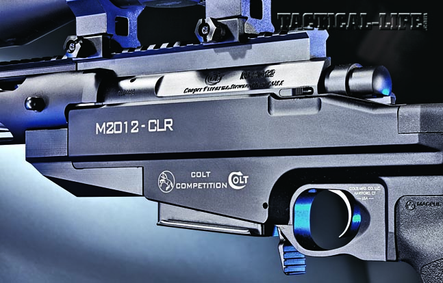 The rifle's aluminum modular chassis ensures reliability and repeatable accuracy without the need for bedding the action.