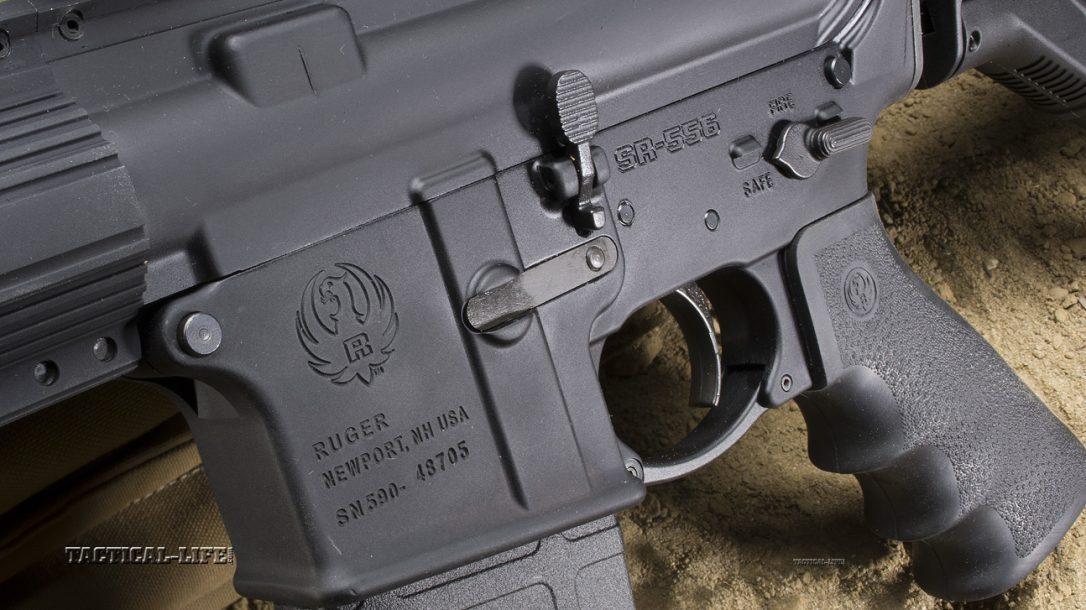 Sneak Peek- Ruger SR-556 Carbine Left side