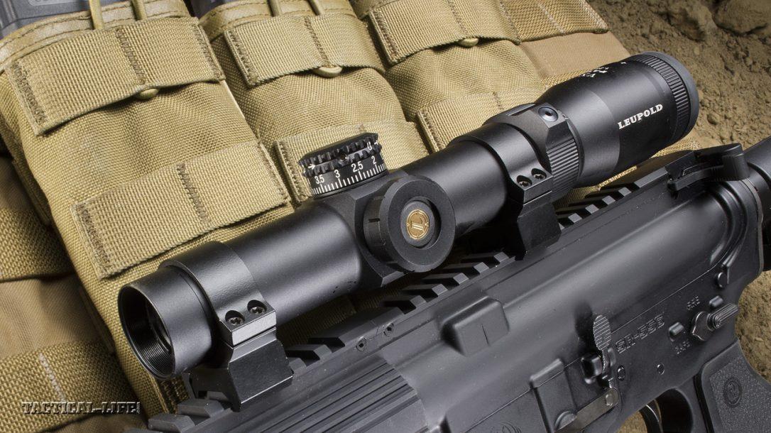 Sneak Peek- Ruger SR-556 Carbine with Leupold Scope