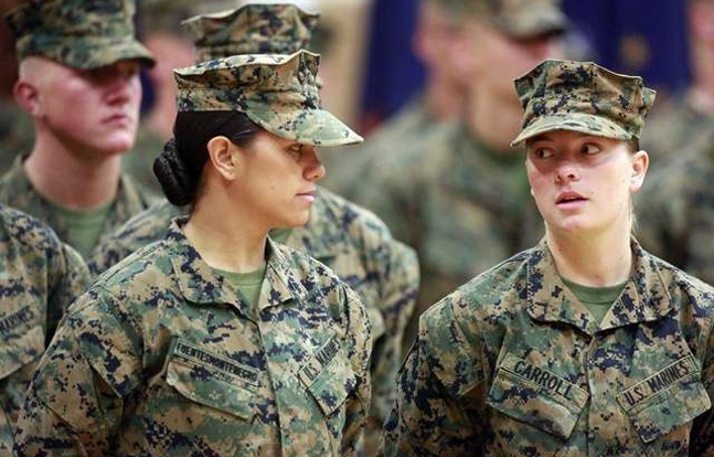 Ten women have graduated from the Marine Corps infantry training course, just weeks after the first three women completed the program.
