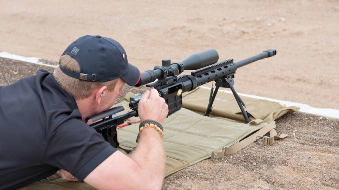 Caracal Expands Firearms Line - Bolt Rifle in Action
