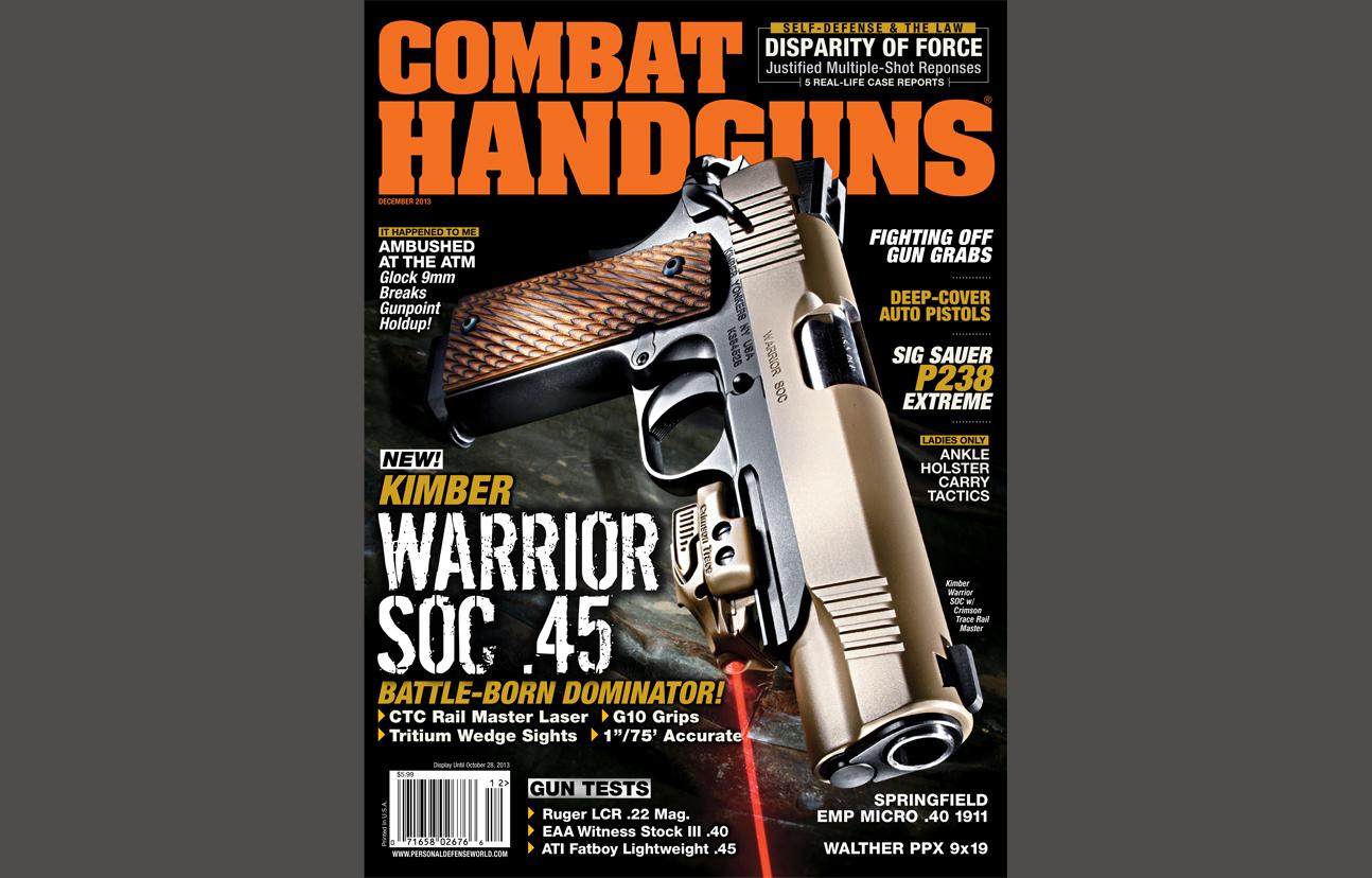Combat Handguns December 2013