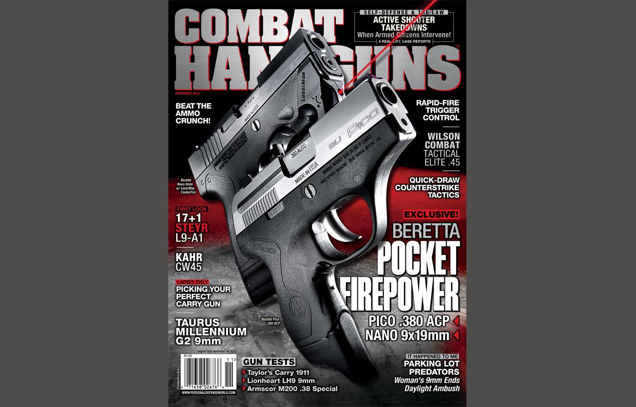 Combat Handguns November 2013