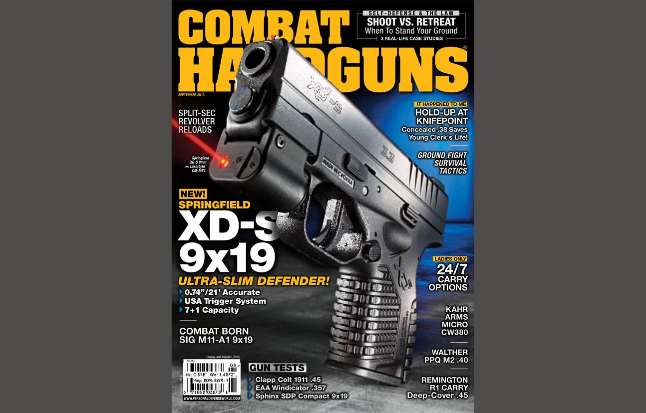 Combat Handguns September 2013