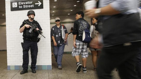 Counter-Terrorism Action Teams will be conducting random checks at shopping malls and commuter trains in Orange, Rockland and Sullivan Counties on Wednesday