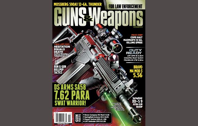 Guns & Weapons for Law Enforcement November 2013