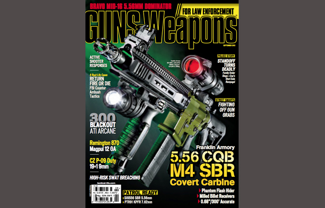 Guns & Weapons for Law Enforcement September 2013